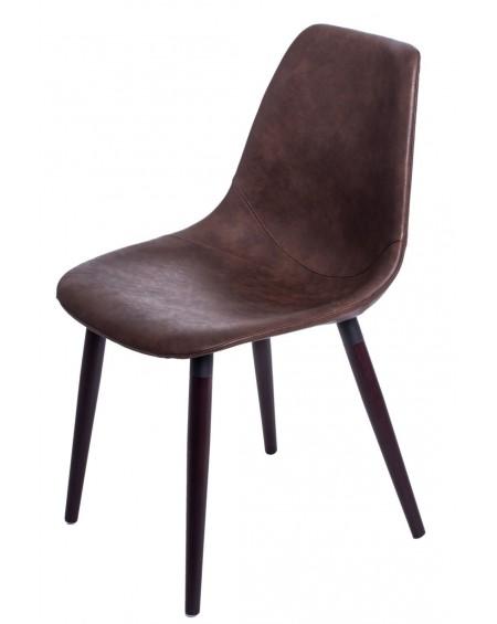 Krzesło Vincent W jasnobrązowe