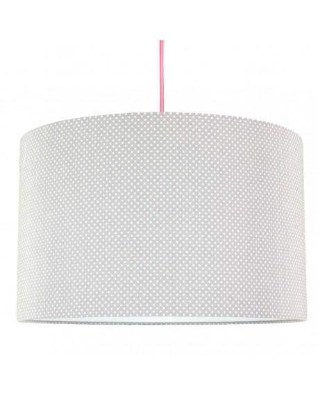 Lampa sufitowa kropeczki na szarym
