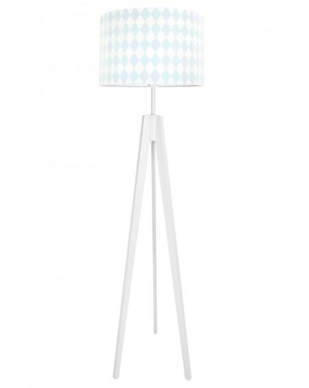 Lampa podłogowa romby pastelowe