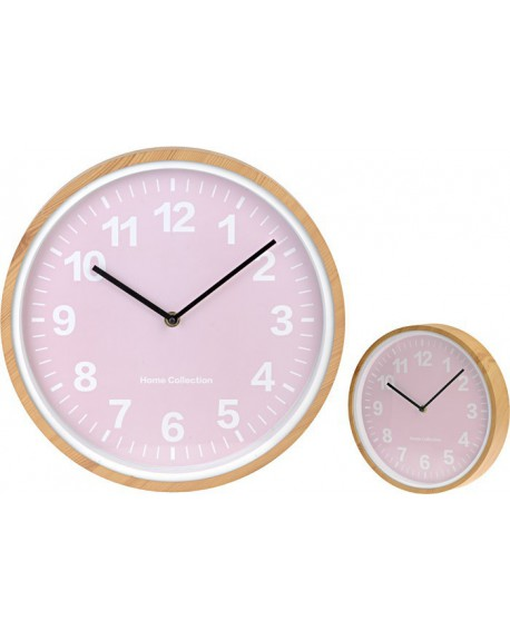 Zegar retro różowy