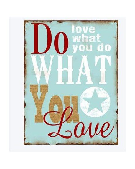 Szyld Love what you do