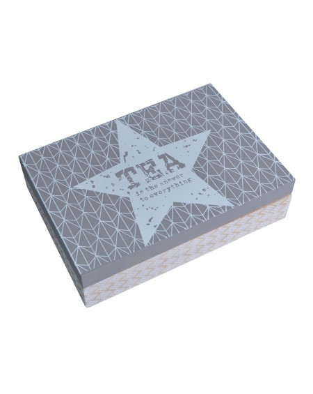 Pudełko na herbatę z gwiazdką