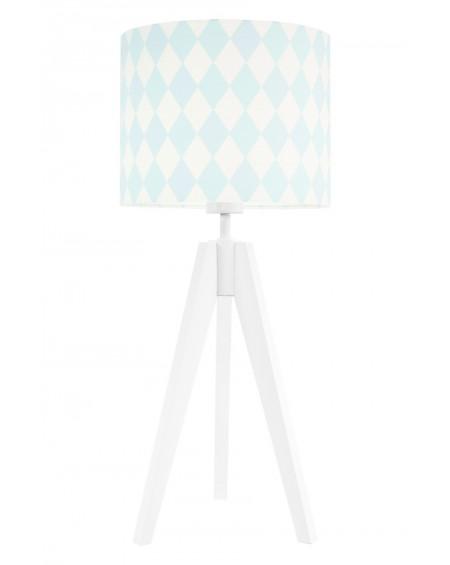 Lampa stołowa Romby pastelowe