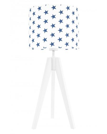 Lampa stołowa Gwiazdki granatowe