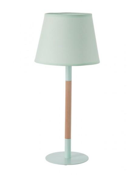 Lampa stołowa miętowa
