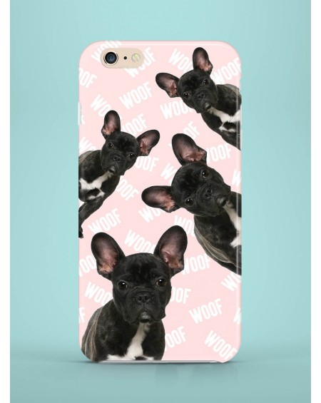 Etui na telefon Frenchies attack pink