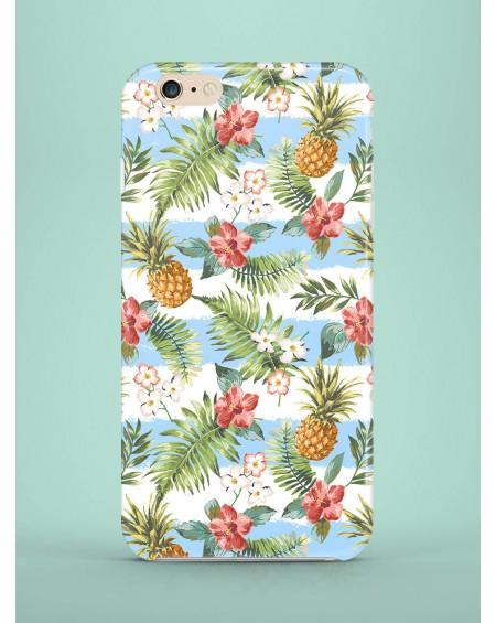 Etui na telefon Blue Striped Pineapples