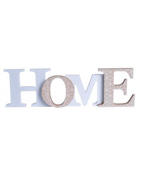 Napis przestrzenny HOME