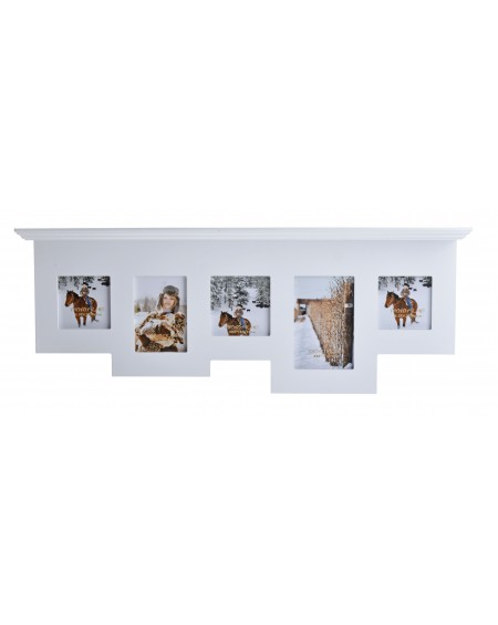 Ramka na zdjęcia z półką