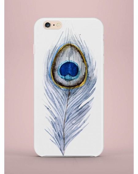 Etui na telefon Peacock Feather