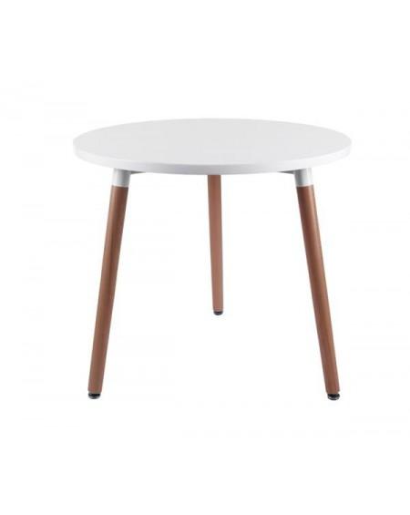 Stół Copine okrągły biały