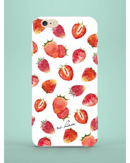 Etui na telefon Strawberries