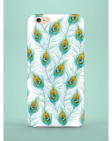 Etui na telefon Peacock Feathers