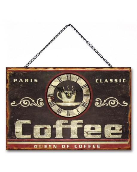 Zegar Queen of Coffee