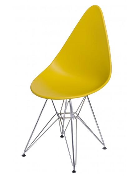 Krzesło Ruer chrome olive