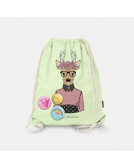 Worek-plecak Lovely Deer