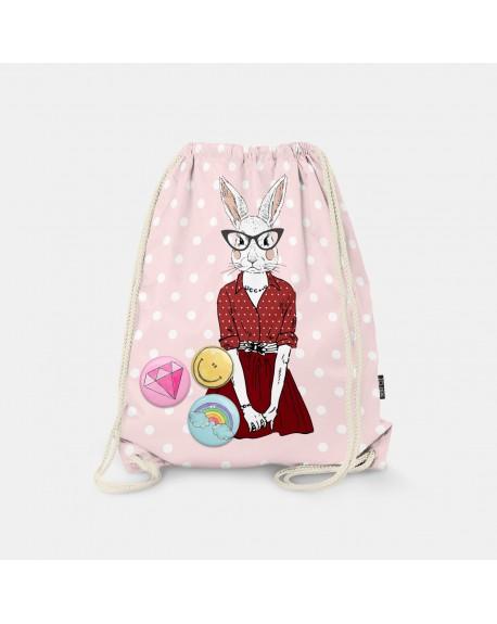 Worek-plecak Bunny