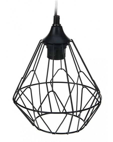 Lampa geometryczna czarna II