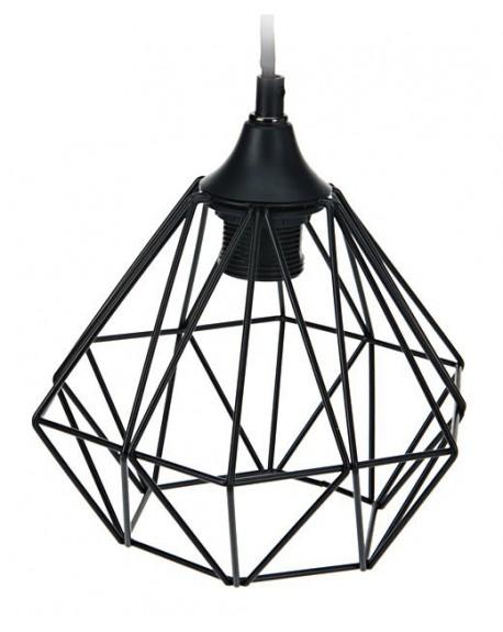 Lampa geometryczna czarna III