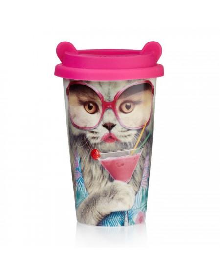 Kubek termiczny Coffee Cat