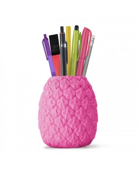 Stojak na długopisy ananas Seriously Tropical różowy