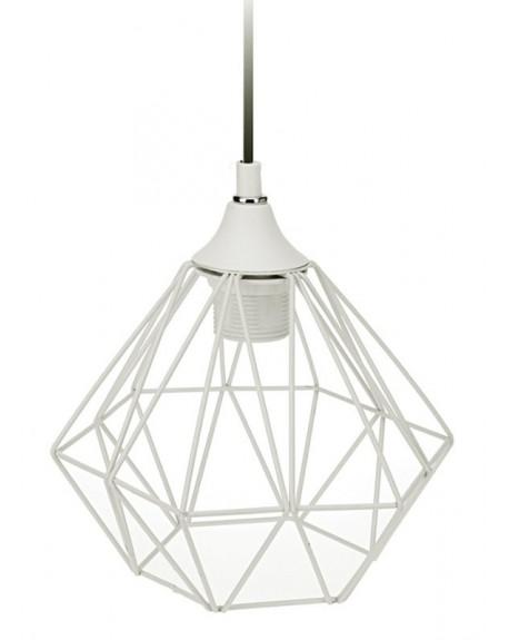 Lampa geometryczna biała I