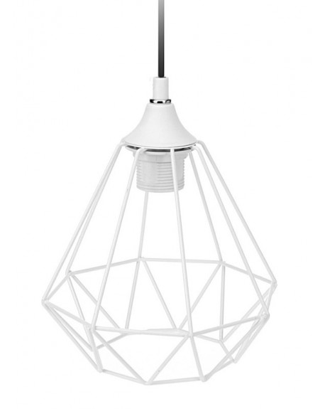 Lampa geometryczna biała III