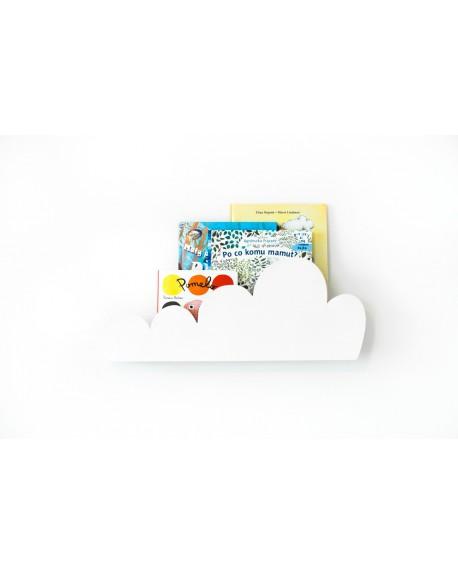 Półka Chmurka biała