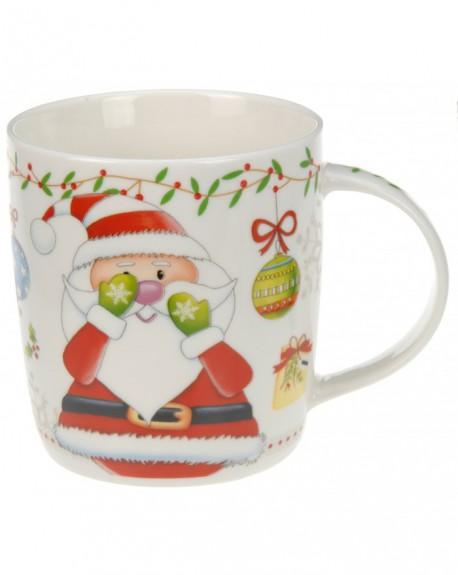 Kubek porcelanowy Mikołaj