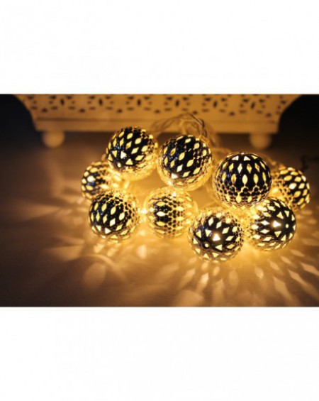 Lampki LED Silver 10 sztuk