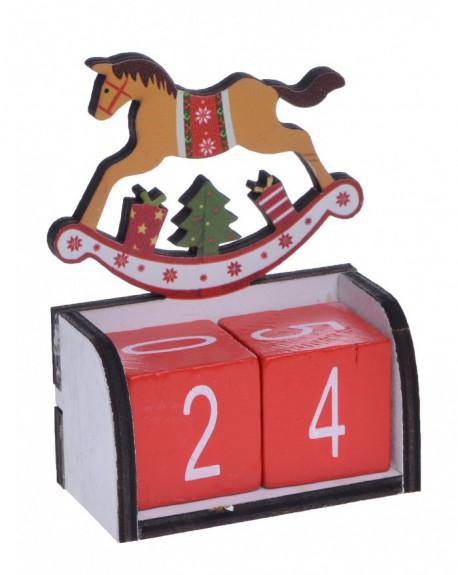 Kalendarz z koniem na biegunach