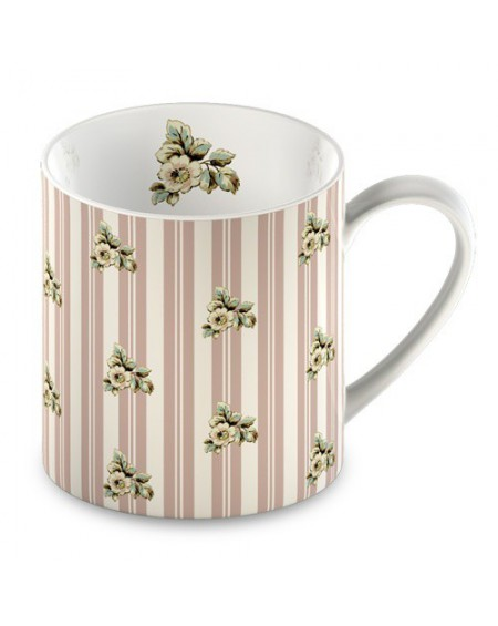 Kubek Cottage Flower stripes