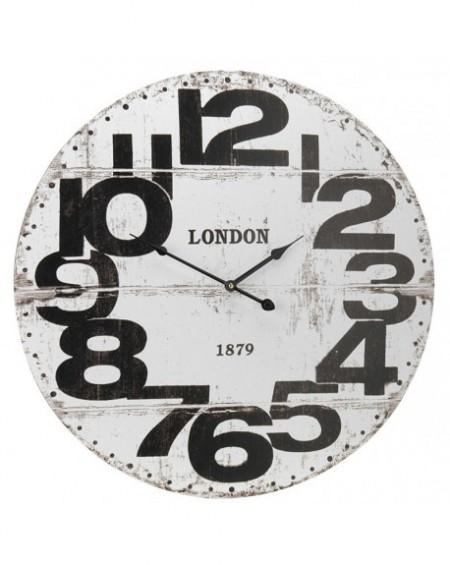 Zegar ścienny LONDON biały