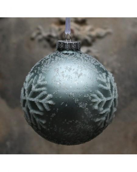 Bombka świąteczna Ice Crystals navy