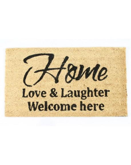 Wycieraczka Home, Love & Laughter