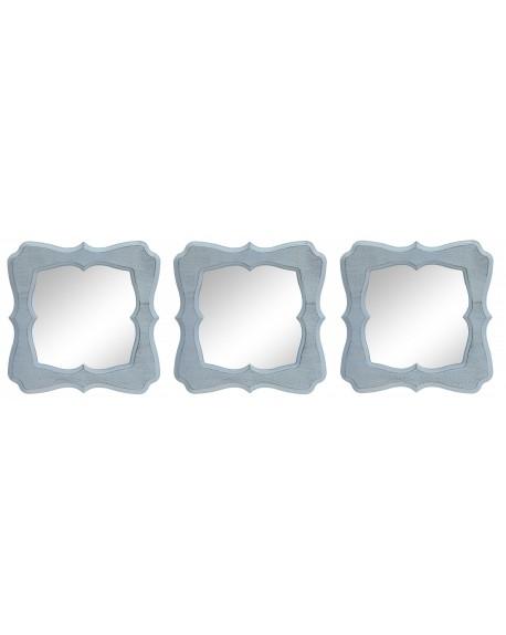 Lustro 3 częśiowe biał