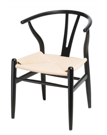 Krzesło Wood black
