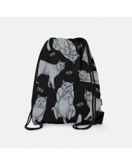 Worek-plecak British Cat Lover