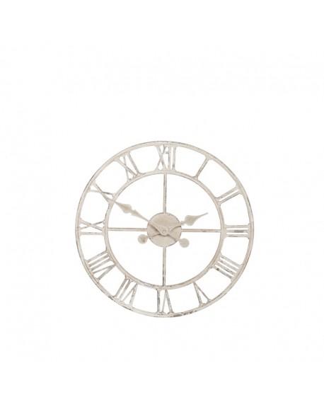 Zegar Vintage Loft biały