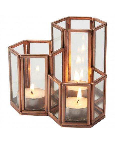 Świecznik na tea-light Copper