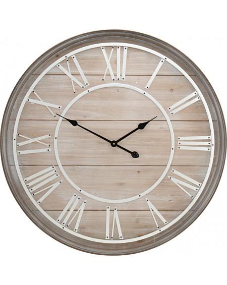 Zegar drewniany ścienny 80 cm