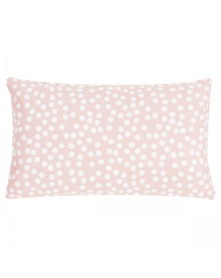 Poduszka dekoracyjna Allover Dots 30x50 różowa