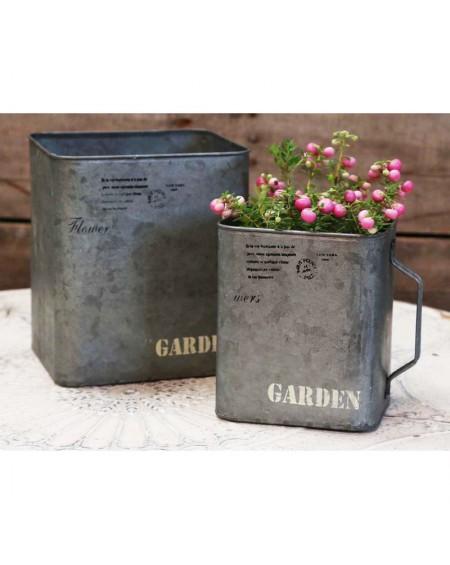 Osłonka metalowa 2 szt. Garden