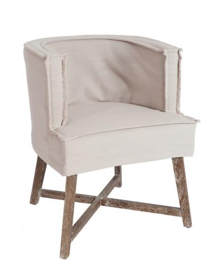 Krzesło tapicerowane Cross