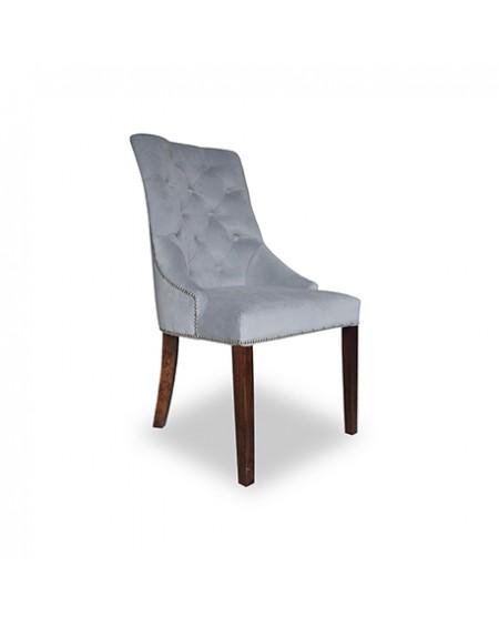 Krzesło Madame z pikowaniem i tasiemką pinezkową