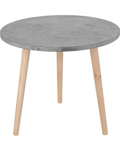 Stolik kawowy cementowy
