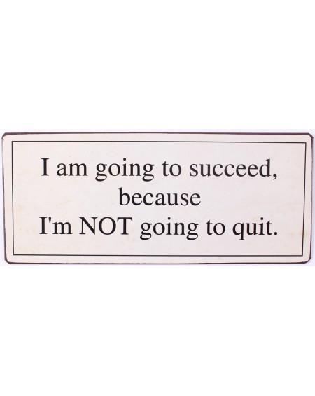 Szyld metalowy I am going to succeed