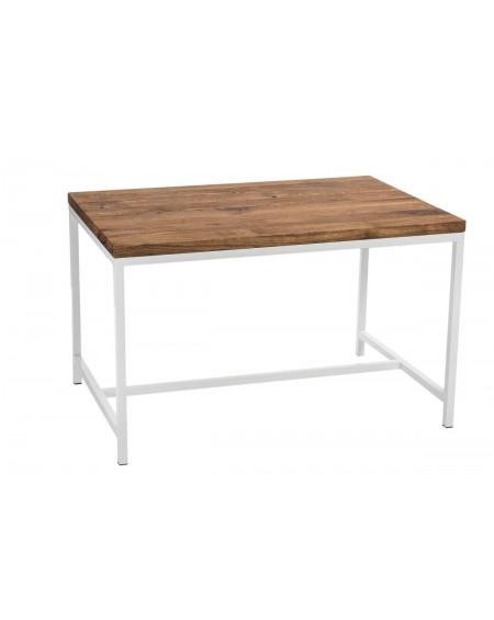 Stół Wooden biały dąb szczotkowany