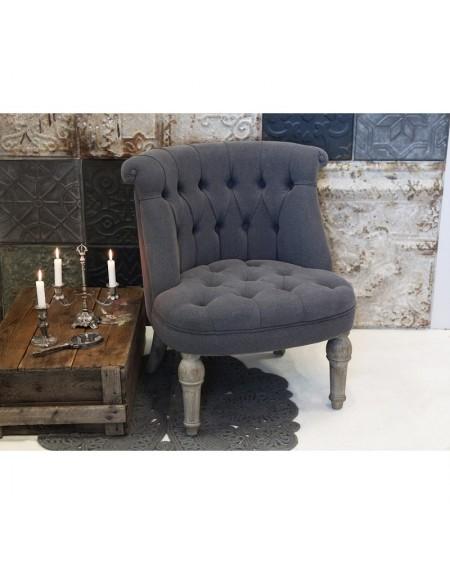 Fotel tapicerowany French