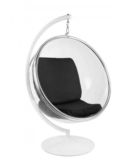 Fotel z podstawą Bubble czarny